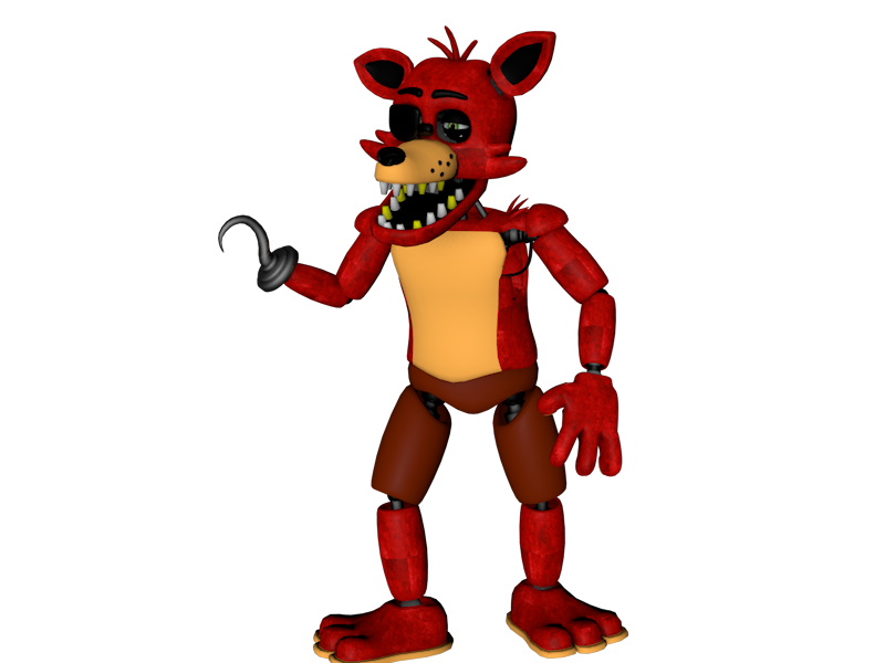 Foxy transparent fixed. By sonicuniverse on deviantart