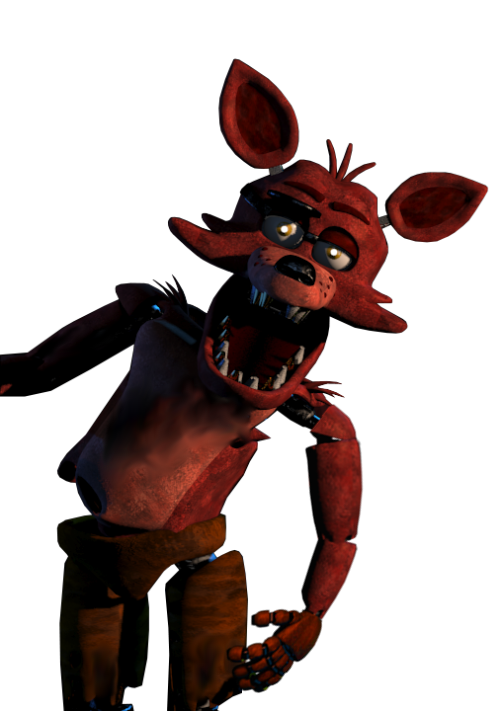 Foxy transparent fixed. Fnaf by kero on