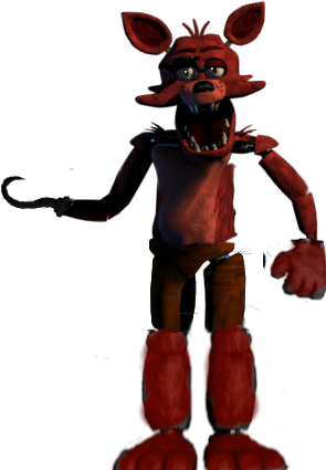 Foxy transparent fixed. By yoshipower on deviantart