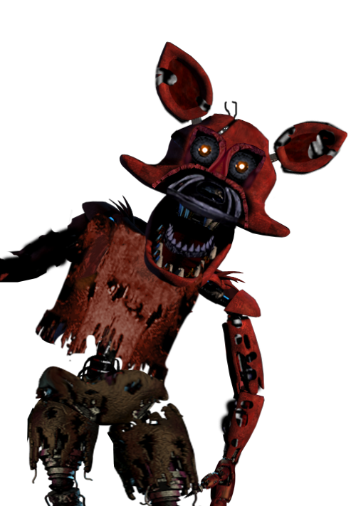 Foxy transparent fna. Nightmare png images pluspng