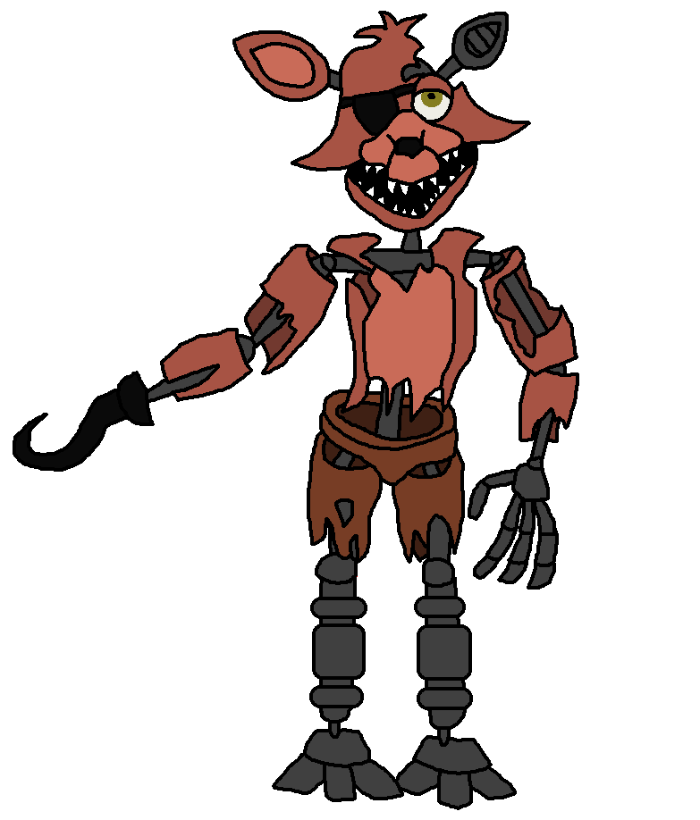 Foxy transparent fnaf 4. Withered a fun copy
