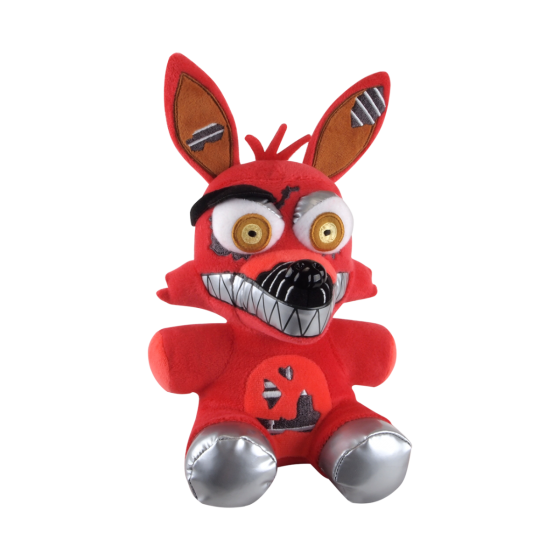 Foxy transparent plush. Five nights at freddy