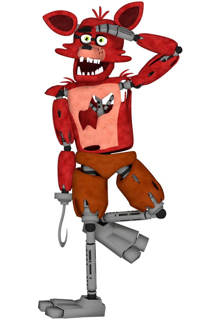 Foxy transparent fnaf sfm. S playing soldier from