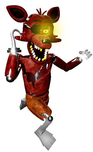 Foxy transparent fnaf sfm. Five nights at freddys