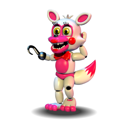 Foxy transparent fnaf world. Extras funtime by kirbypupppets