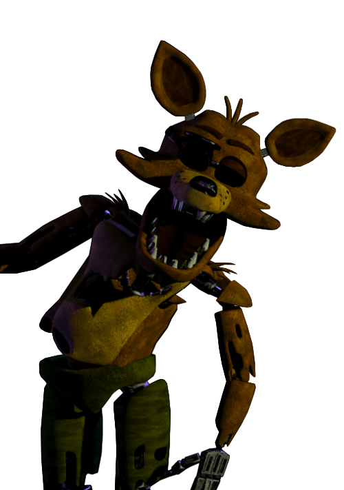 Foxy transparent golden. Five nights at freddys