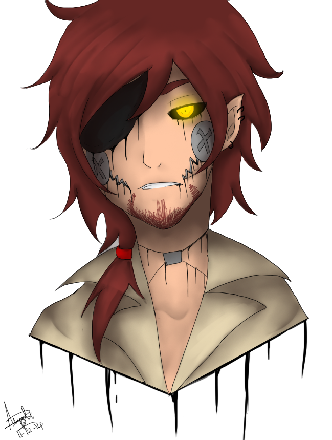 Foxy transparent human. By darkdeathqueen on deviantart