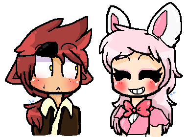 Foxy transparent human. And mangle by jordanoxx