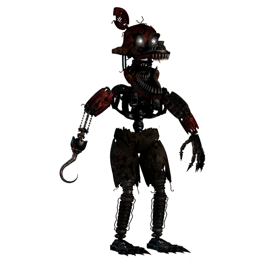 Foxy transparent ignited. Nightmare by alexander on