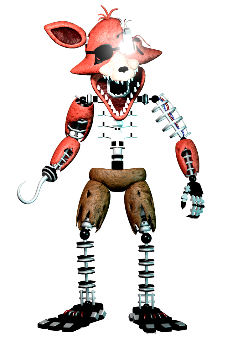 Foxy transparent ignited. On devianart model awesome