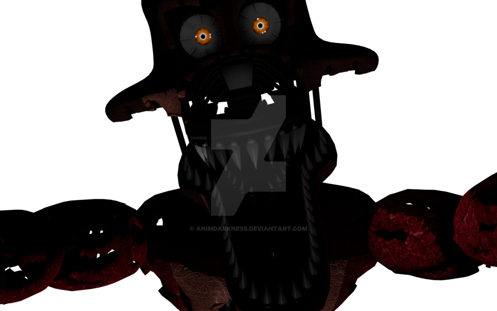 Foxy transparent jumpscare. Png c d by