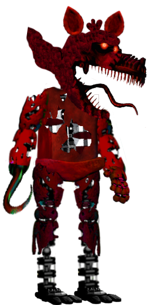 Foxy transparent nightmare. Hq png images pluspng