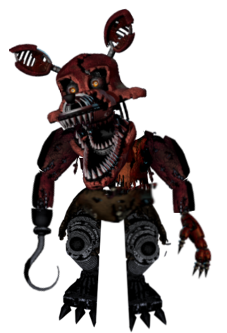 Foxy transparent nightmare. Download free png in