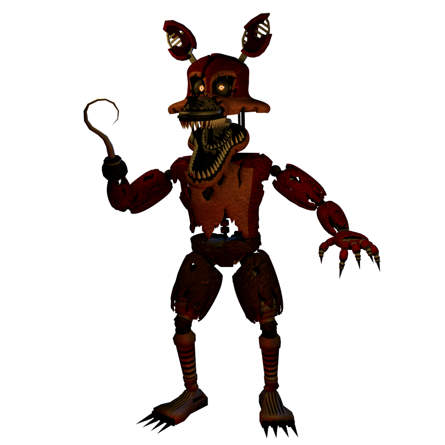 Foxy transparent nightmare. Also very soon fivenightsatfreddys
