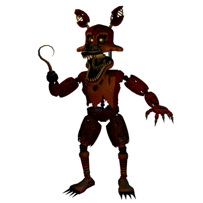 Foxy transparent nightmare. Png foxypng images dlpng