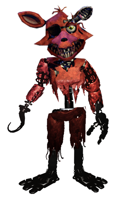 Foxy transparent old. Full body by b