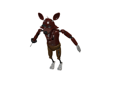 Foxy transparent old. D models for free