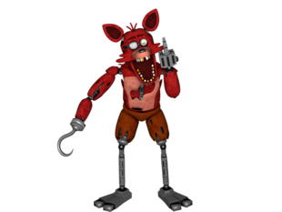 Foxy transparent old. Dayshift at freddy s