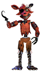 Foxy transparent old. Withered full body by