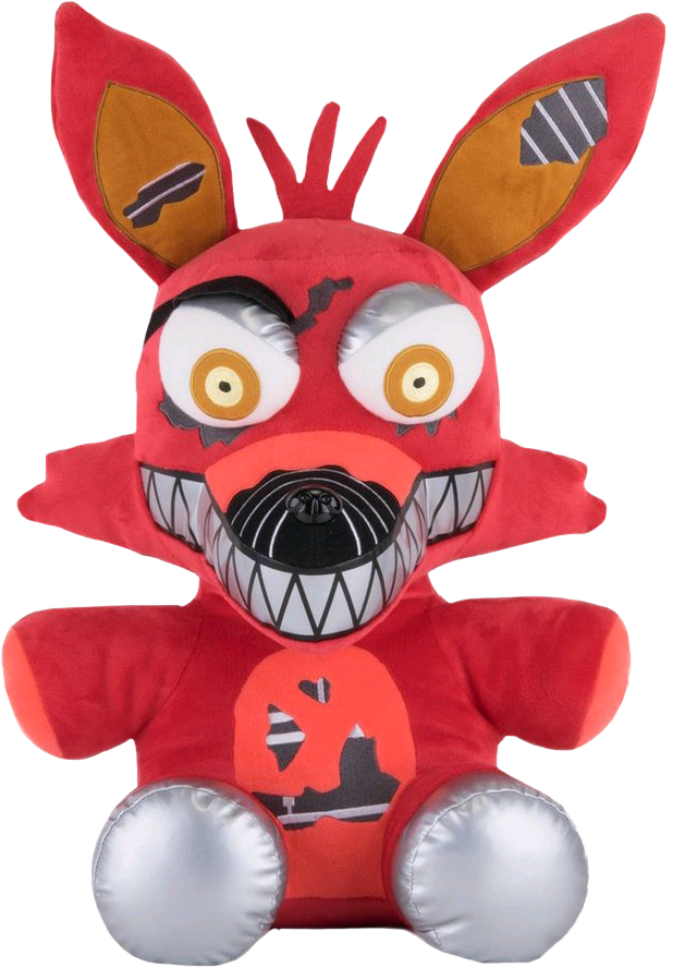 Foxy transparent plush. Abandoned discovery island rp