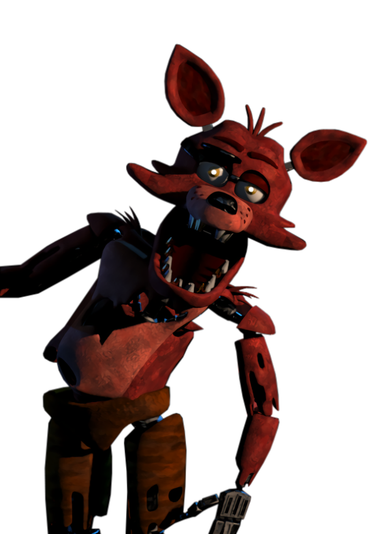 Foxy transparent repaired. Hq by a battery