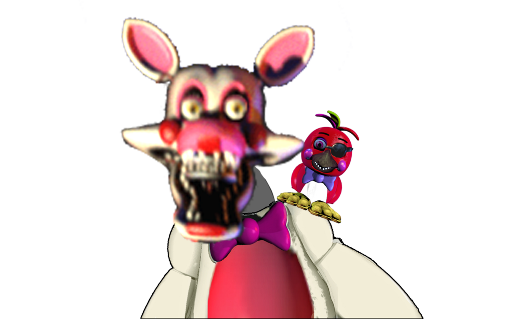 Foxy transparent toy. Pre mangle un withered