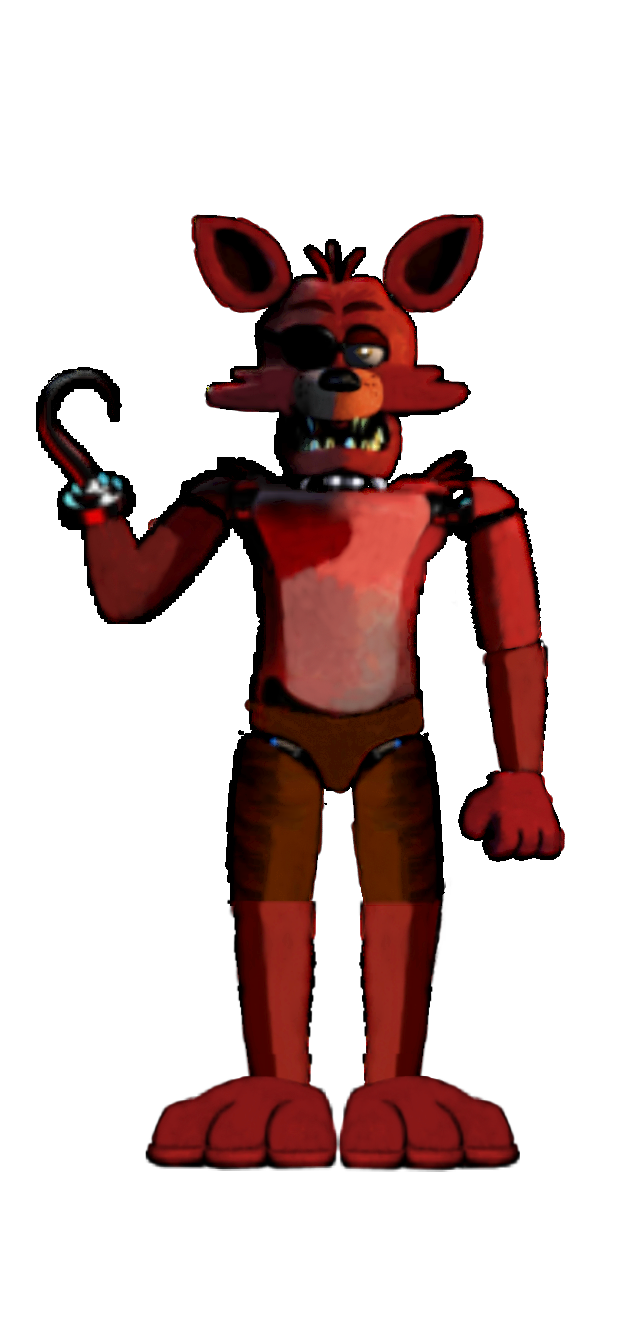 Foxy transparent unwithered. Fixed fnaf old animatronics