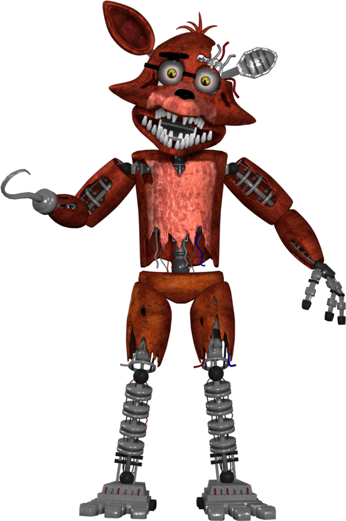 Foxy transparent withered. Sticker by springfoxy report