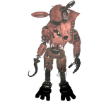 Foxy transparent withered. Full body by dahooplerzman