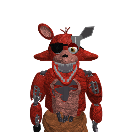 Foxy transparent withered. F n a roblox