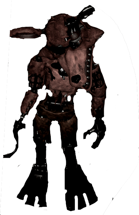Foxy transparent withered. By kerocraft kero on