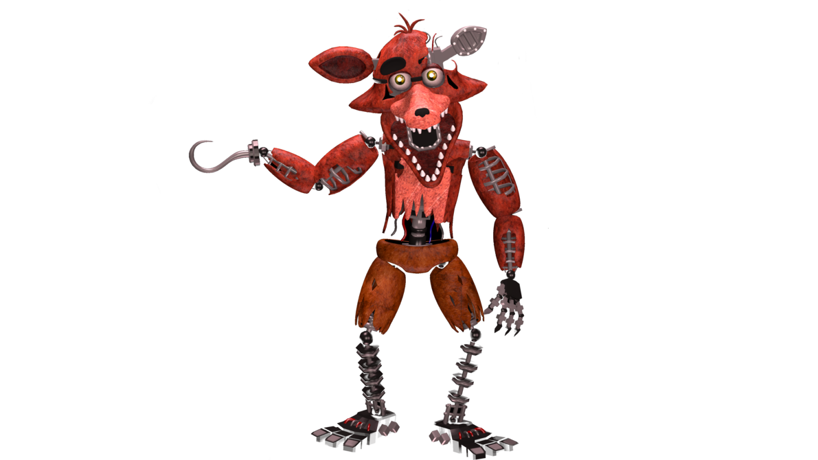 Foxy transparent withered. K render by