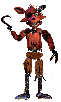 Foxy transparent withered. Fnaf pinterest freddy s
