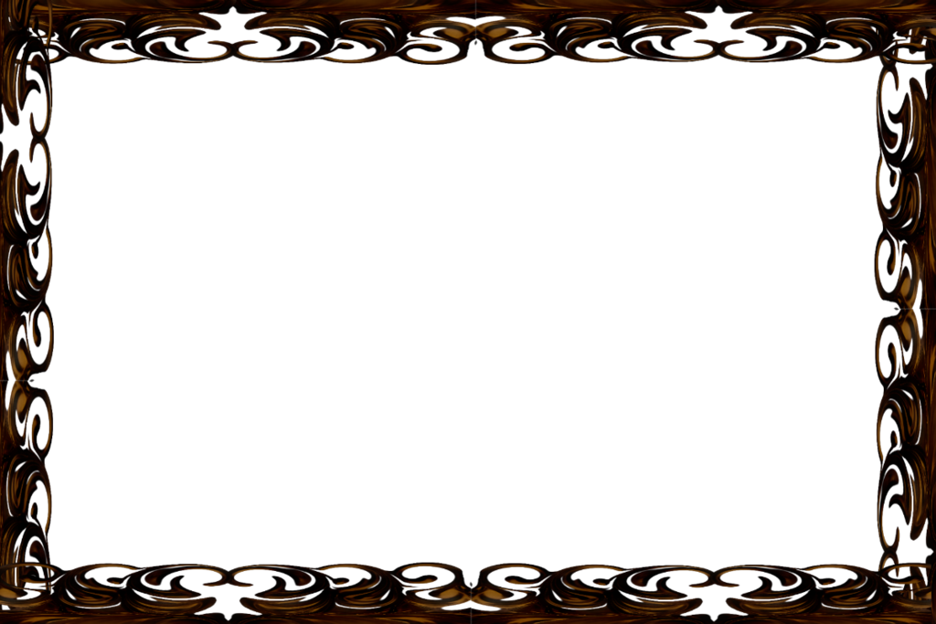 Frame art png. Nouveau inspired by magicsart
