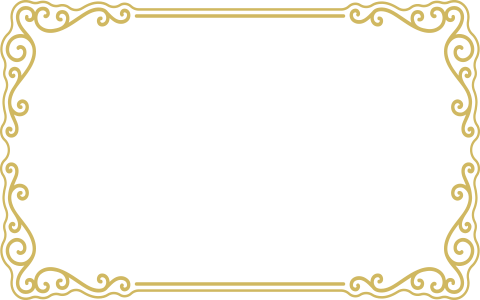 Gold frame border png. Transparent background mart