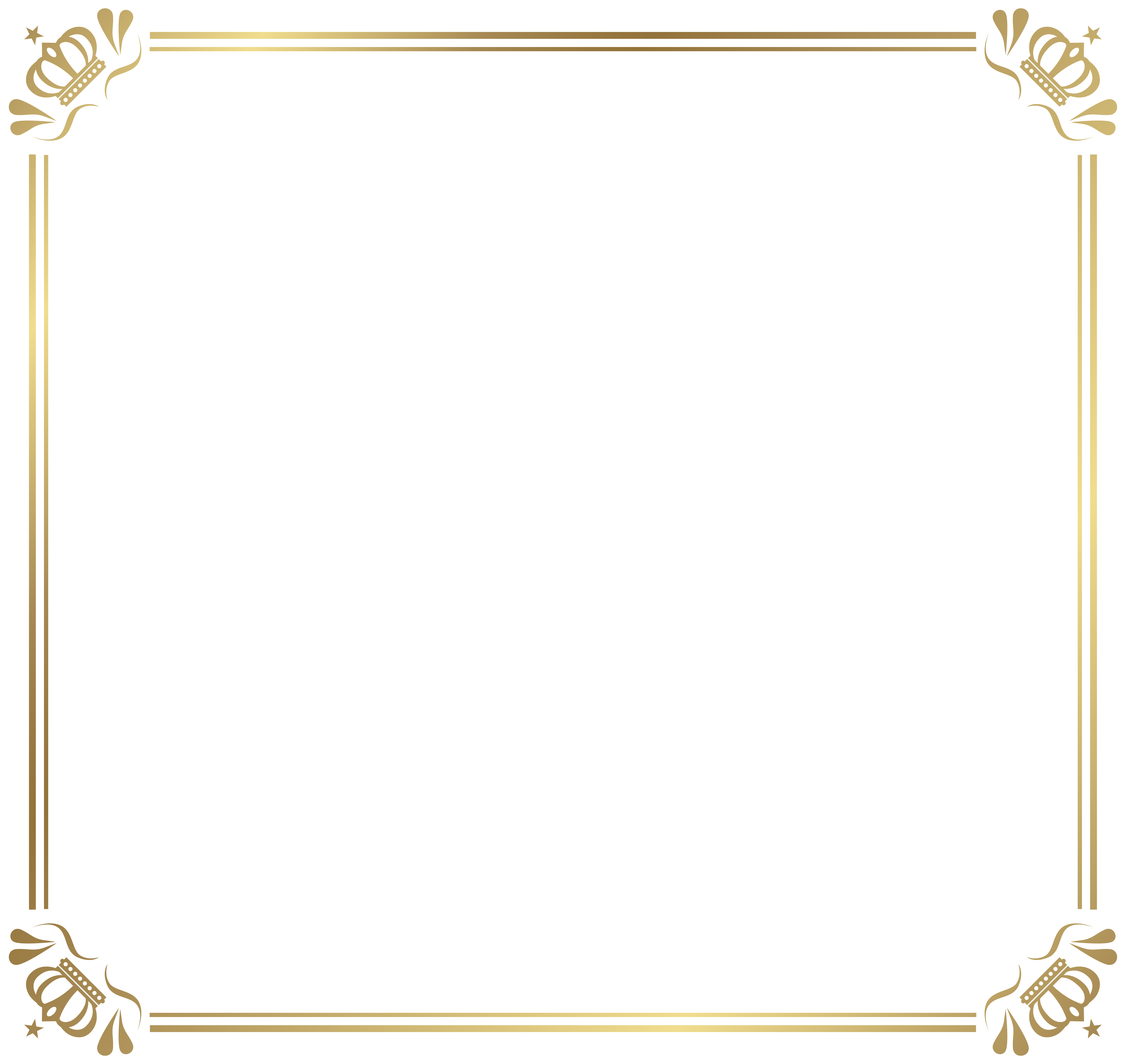 With crowns image gallery. Frame border png graphic