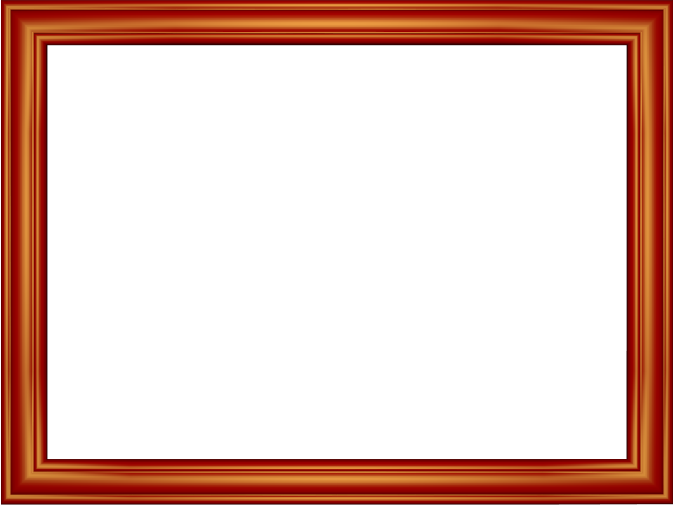 Photo frames png. Free and borders red