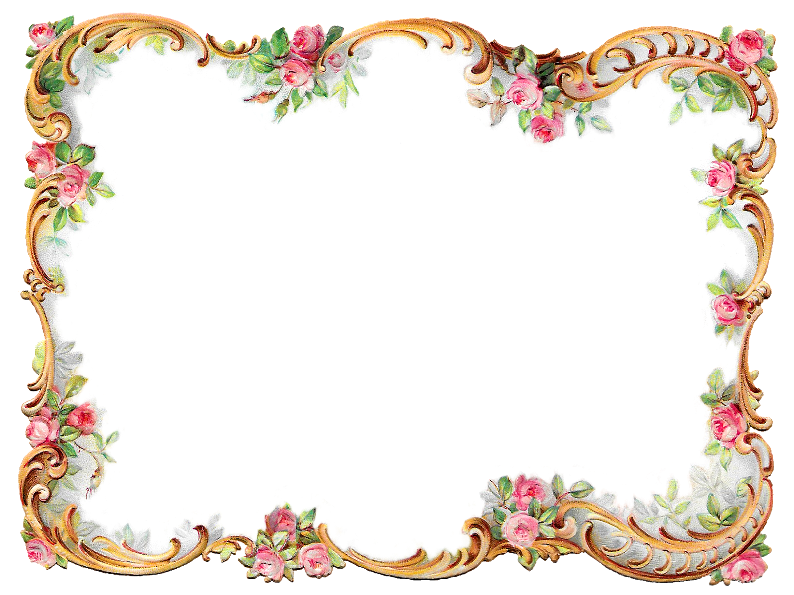 Frame borders png. Antique images royalty free