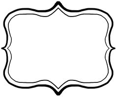 Pin by ev en. Frame clipart image black and white library
