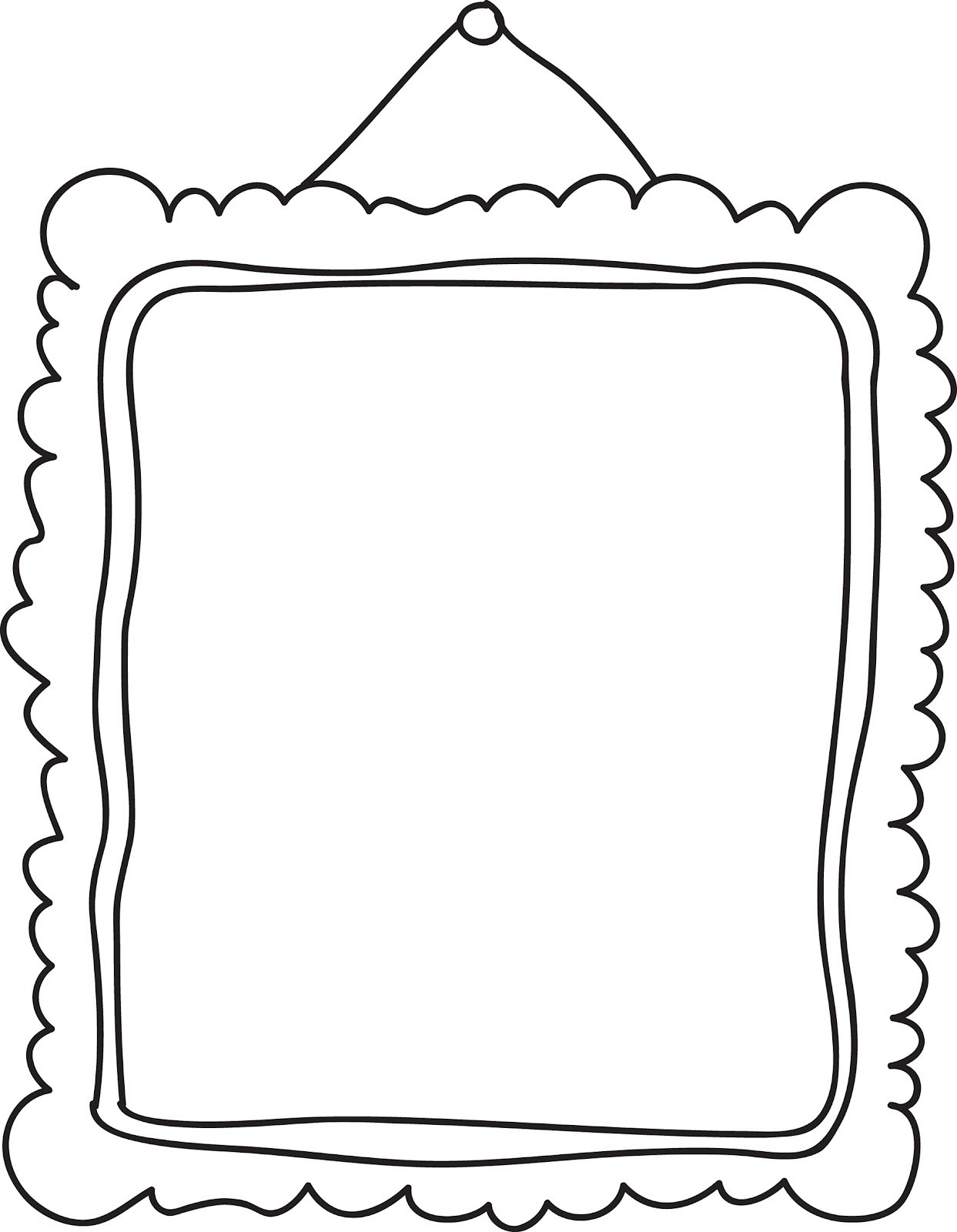 Frame clipart doodle. Free cliparts download clip