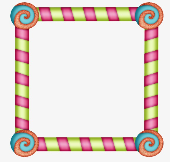 Frame clipart hand. Color painted cartoon frames