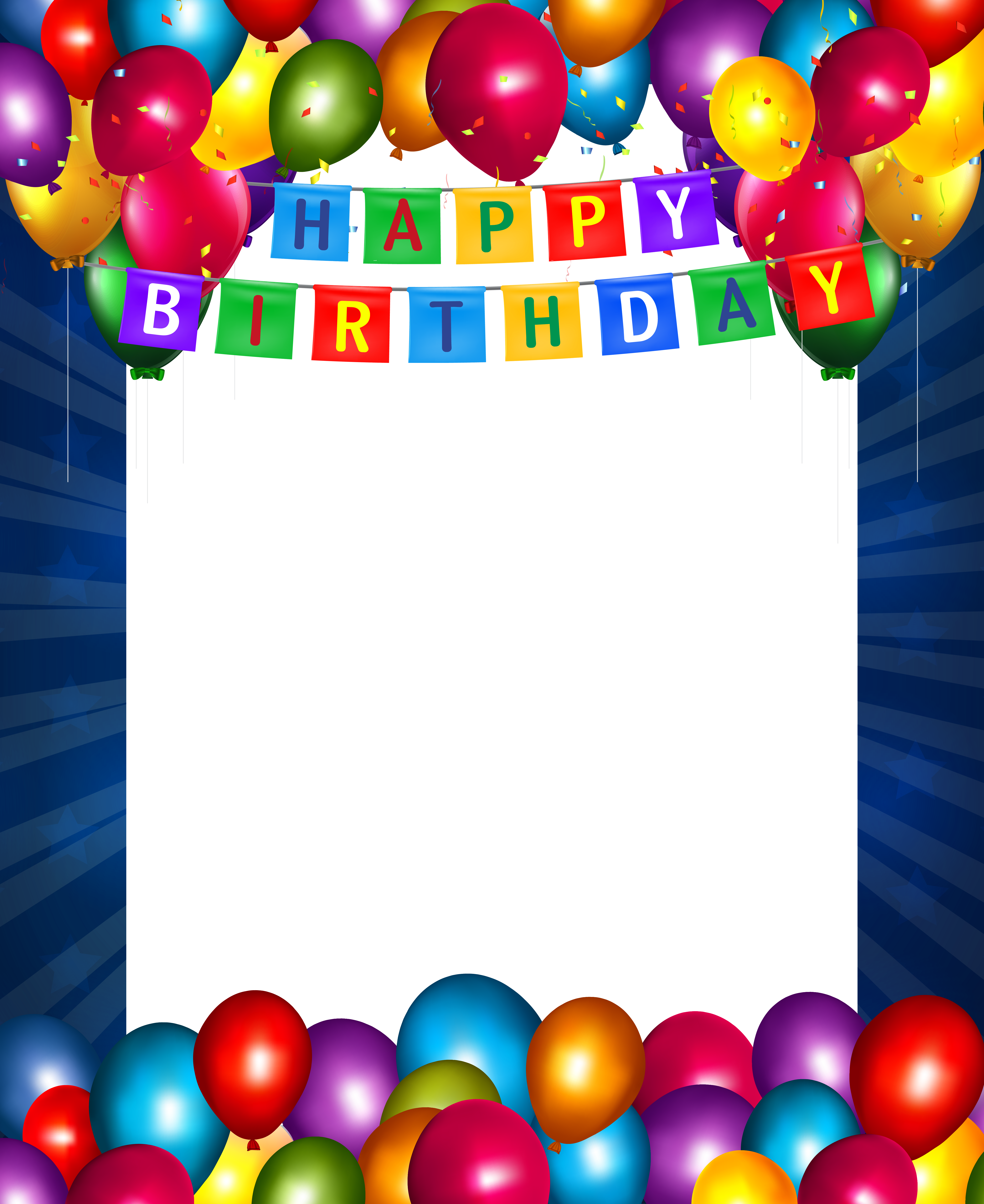 Pin by aoril on. Frame clipart happy birthday clipart black and white download