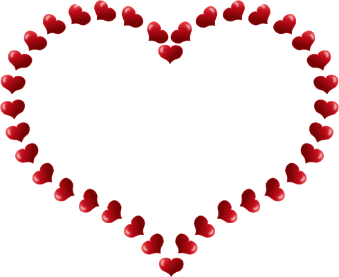 Frame clipart heart. Free border download clip