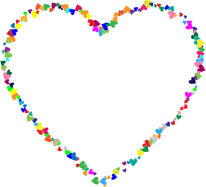 Transparent png pictures free. Frame clipart heart banner transparent library