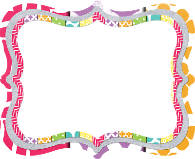 Frame clipart preschool. Borders and frames panda