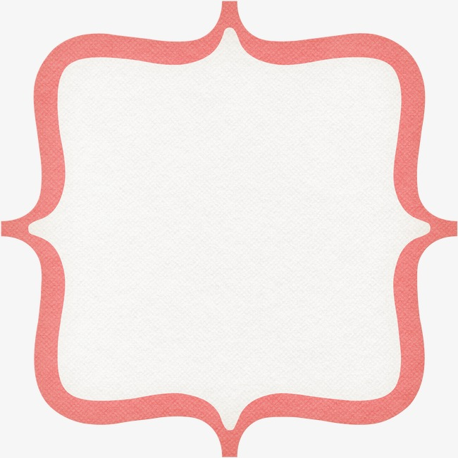 Frame clipart shape. Simple border png image