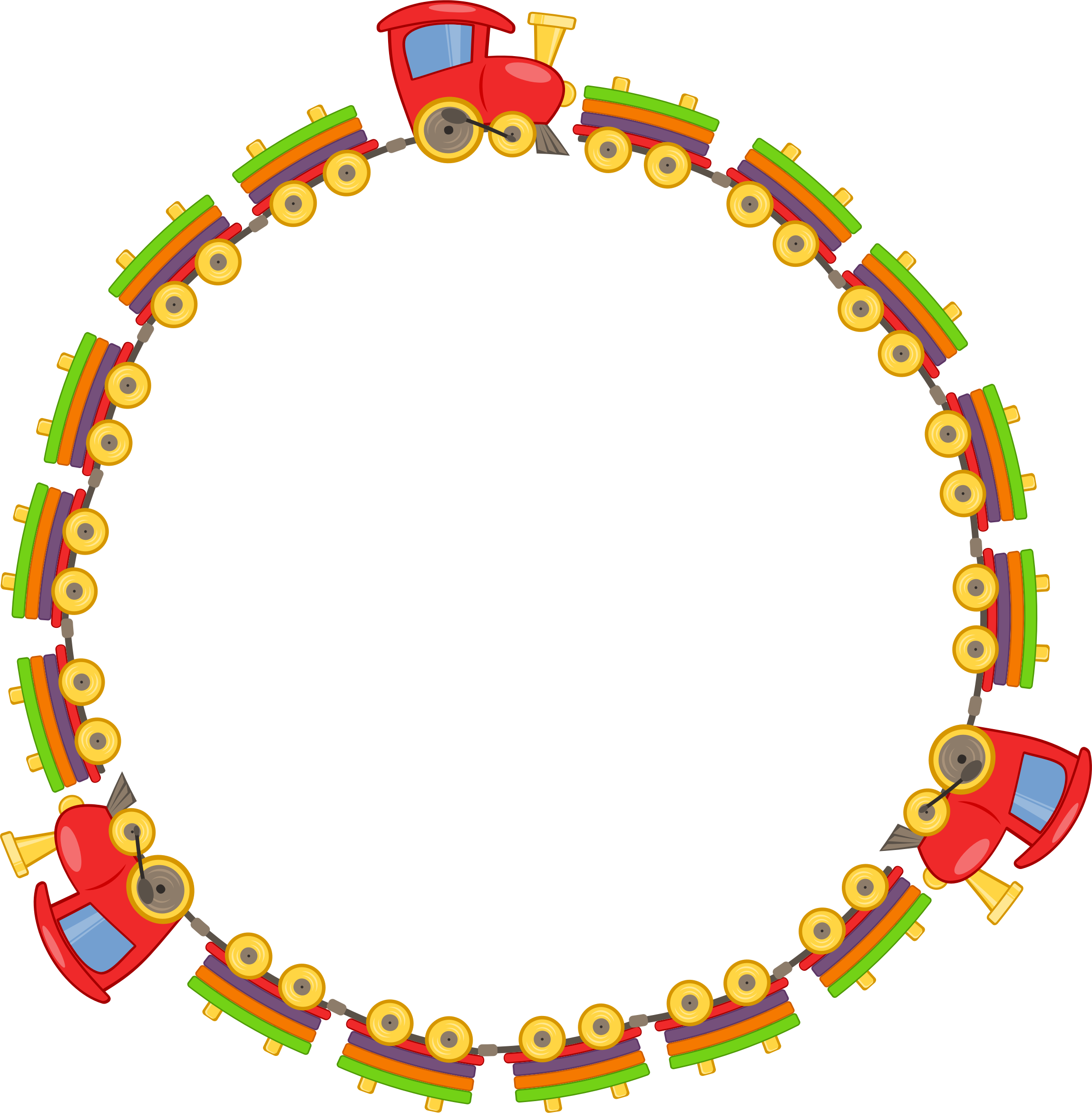 Train big image png. Frame clipart toy picture free stock