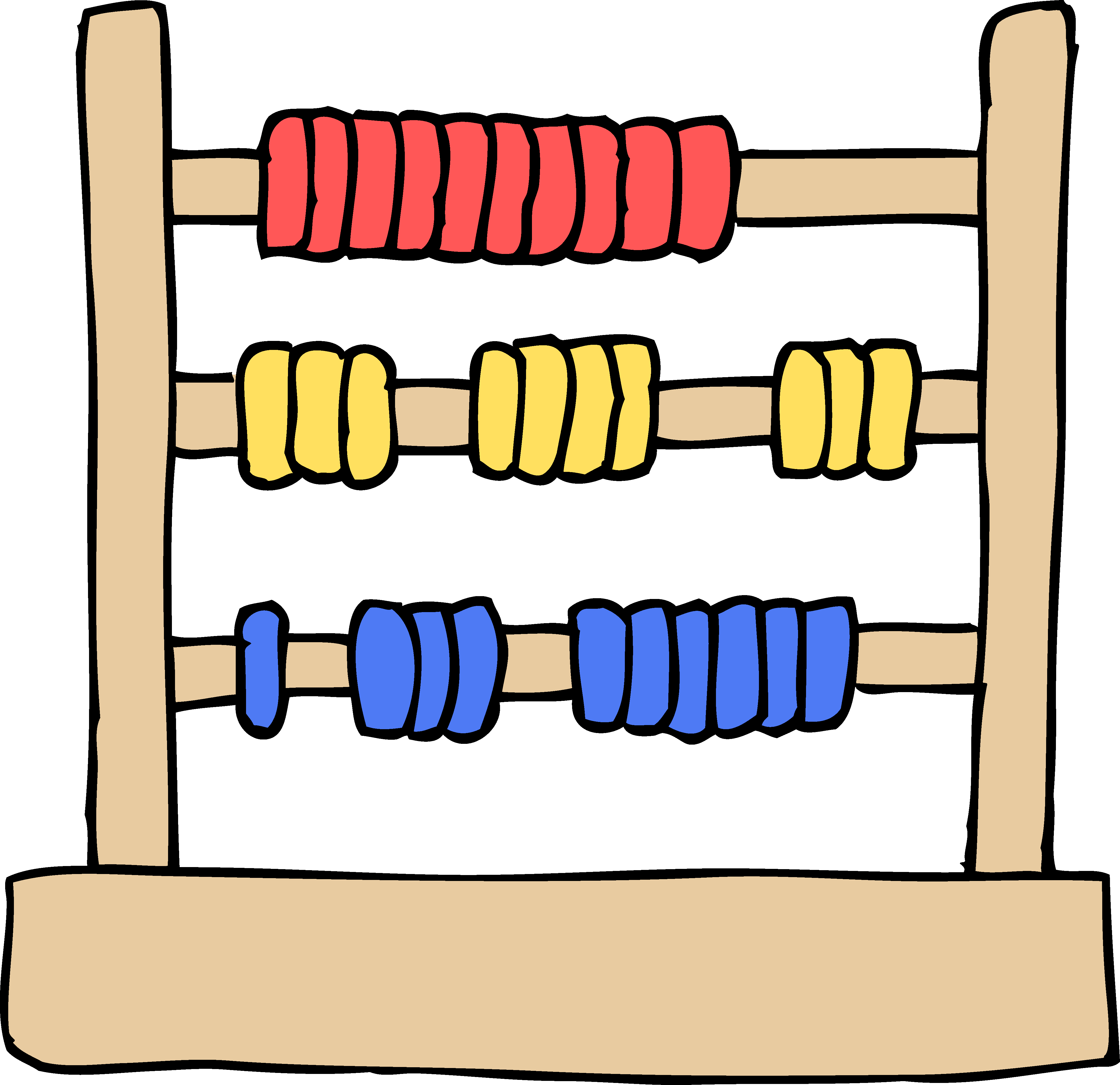 Frame clipart toy. Kids abacus free clip
