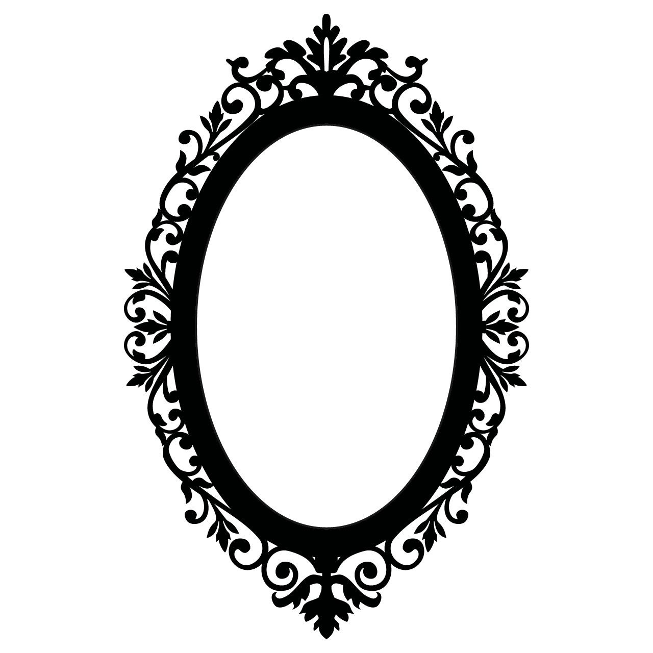 Frame clipart victorian. Oval jewelry ideas pinterest