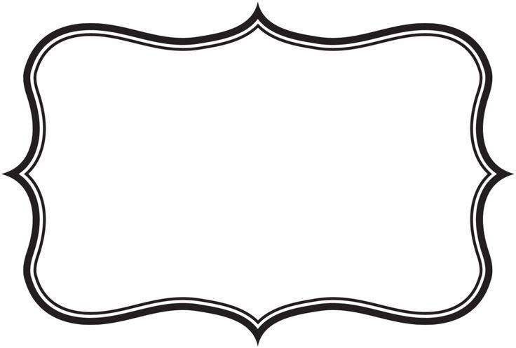Frame clipart. Label clip art world vector free library